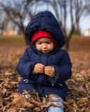 Kind im fileld Lizenzfreie Stockbilder
