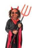 Kind im Halloween-Kostüm stockbilder