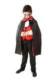 Kind im Halloween-Kostüm Lizenzfreies Stockfoto