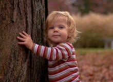 Kind im Herbst Lizenzfreies Stockfoto
