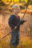 Kind im Herbst Lizenzfreies Stockbild
