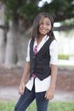 Kind im Park Lizenzfreies Stockfoto