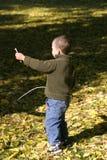 Kind im Park Lizenzfreie Stockfotografie