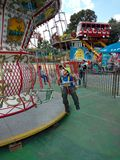 Kind im Park Mexiko City Lizenzfreie Stockfotos
