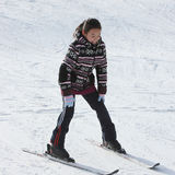 Kind im Ski Stockfotos
