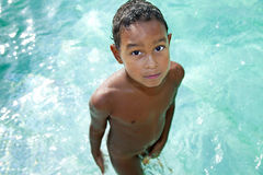Kind im Sommer Lizenzfreie Stockfotografie