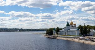 Kind on the Ipatevsky monastery,Kostroma Royalty Free Stock Photography