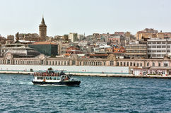 Kind of Istambul from Bosphorus Stock Photos
