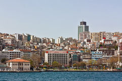 Kind of Istambul from Bosphorus Royalty Free Stock Photography