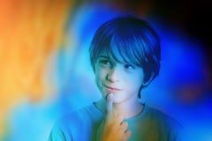 Kind kleurrijke verbeelding Royalty-vrije Stock Afbeelding