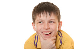 Kind laughing kid Royalty Free Stock Photo