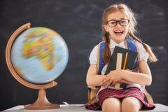 Kind lernt in der Klasse Lizenzfreie Stockfotografie