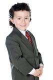 Kind met elegante kleren Royalty-vrije Stock Foto