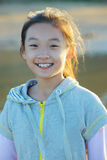Kind met glimlach stock foto's