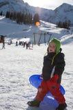 Kind met loodje Stock Foto's