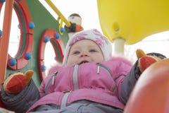 Kind met rollende heuvels Royalty-vrije Stock Afbeelding