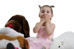 Kind met stuk speelgoed. Royalty-vrije Stock Fotografie