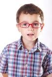Kind mit Gläsern Lizenzfreie Stockfotos