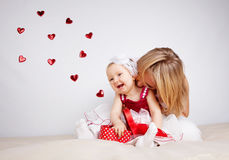 Kind mit Inneren Stockbilder
