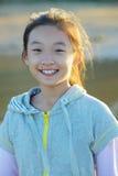 Kind mit Lächeln Stockfotos