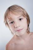 Kind mit nettem Ausdruck Stockbilder