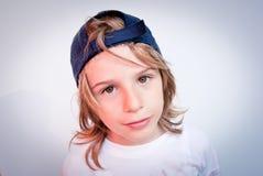 Kind mit nettem Ausdruck Stockfotos