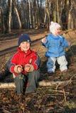 Kind mit Schätzchen Lizenzfreie Stockfotografie