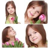 Kind mit Seeoberteil Lizenzfreie Stockfotografie