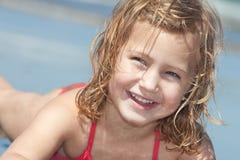 Kind op het strand Royalty-vrije Stock Foto's