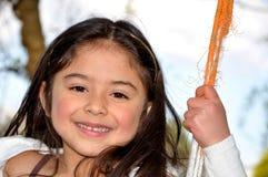 Kind in park Stock Afbeeldingen
