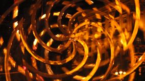 Parts rotating in different directions. Visual effect. Abstraction in motion. Kind of perpetual motion machine. Parts rotating in different directions. Visual stock video