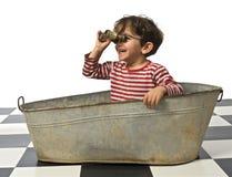 Kind pirat Royalty-vrije Stock Afbeeldingen