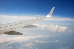 Kind from plane salon Royalty Free Stock Photos