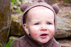 Kind-Portrait Lizenzfreie Stockfotos