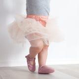 Kind in Prinzessinkostüm Stockbild