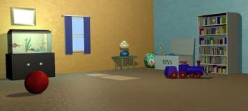 Kind-Raum stock abbildung
