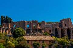Rome. The Palatine Hill. Royalty Free Stock Photography