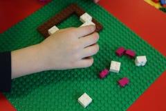 Kind-` s bunter Designer und ein Platz, zum es zu spielen Lizenzfreies Stockfoto