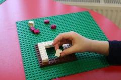 Kind-` s bunter Designer und ein Platz, zum es zu spielen Lizenzfreie Stockfotos