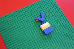 Kind-` s bunter Designer und ein Platz, zum es zu spielen Lizenzfreie Stockbilder