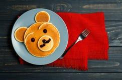 Kind-` s Frühstück stockbilder
