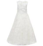 Kind-` s Kleid lokalisiert auf weißem Hintergrund Stockfoto