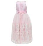 Kind-` s Kleid lokalisiert auf weißem Hintergrund Stockfotos