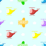 Kind-` s nahtloses Muster Stockbilder