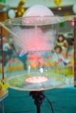Kind-` s Partei Zu die Seifenblase sprengen Seifenblaseshow lizenzfreie stockfotografie