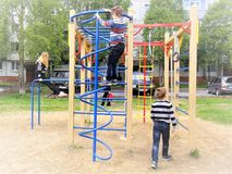 Kind-` s Sommer-Spiele Lizenzfreie Stockfotos