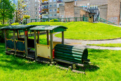 Kind-` s Spielplatz Stockfotografie