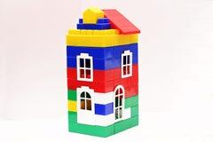 Kind-` s Spielzeugplastikhausdesigner Stockfotos