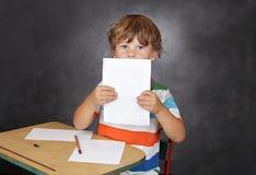 Kind in School, Onderwijs Stock Fotografie