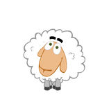 Kind sheep Stock Photography